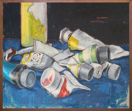 033-010103365N - Geschilderd (Painted) - 1995 - Oil on canvas - 72 x 93 cm