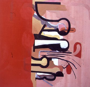 Omkeer - Paintings - Oilpaint on canvas - 130x125 - €3147