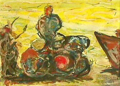 Goa XIV - Paintings - Oilpaint on canvas - 030x040 - € 1.550