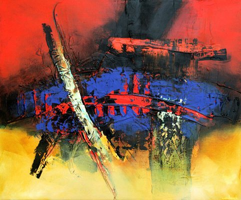 ZT - Paintings - Oilpaint on canvas - 070x085 - € 5000