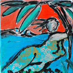 StormyWeather 2011 - Paintings - Acrylics on canvas - 020x020 - €450