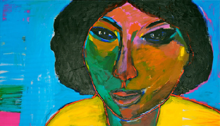 Aicha 2011 - Paintings - Acrylics on canvas - 130x100 - €4.300