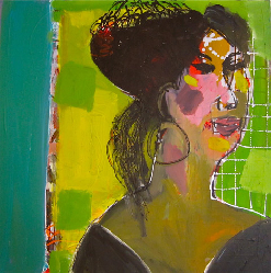 Amy 2011 - Paintings - Acrylics on canvas - 060x060 - €1.425