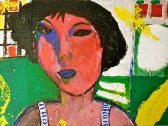 La Gitane 2011 - Paintings - Acrylics on canvas - 120x080 - €4.000