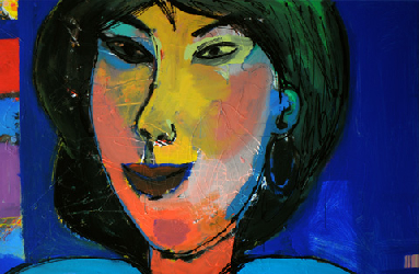 Ming Hua 2011 - Paintings - Acrylics on canvas - 120x080 - €4.000