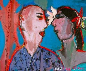 Weddingday 2011 - Paintings - Acrylics on canvas - 050x060 - €1.425