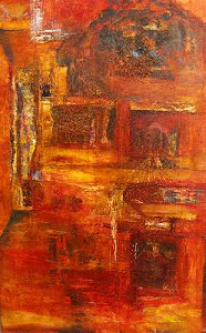 Landrol geheimen - Paintings - Oilpaint on canvas - 140x90 - € 2800