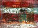 010124070 -  Zonder titel vierluik  - Paintings - Oilpaint on canvas - €150